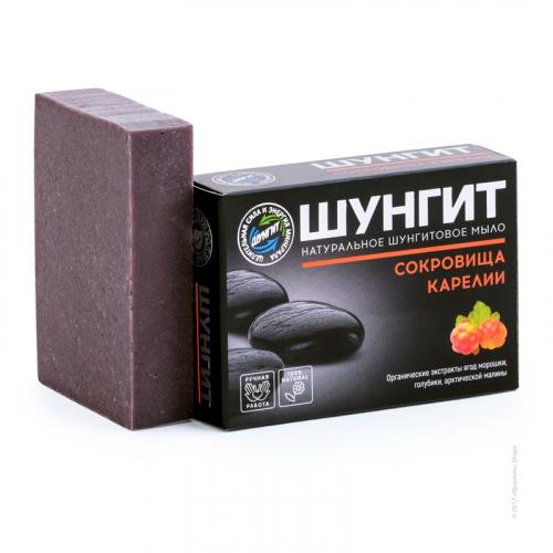 """Shungite natural soap """"Treasures of Karelia»"""