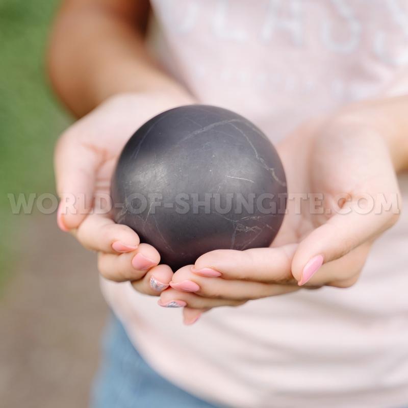 Shungite unpolished sphere 12cm