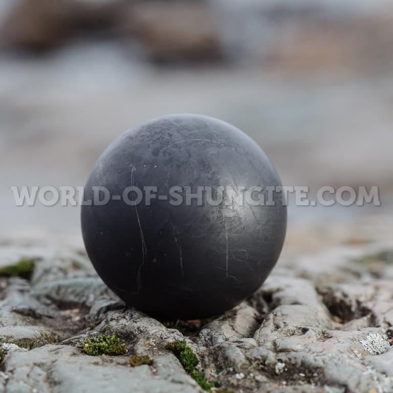 Shungite unpolished sphere 20cm