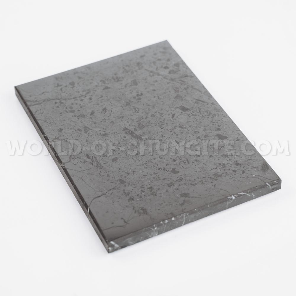 Shungite polished tile 9x12cm
