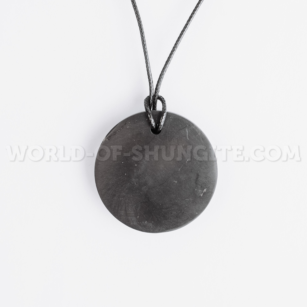 """Shungite pendant """"Circle"""""""