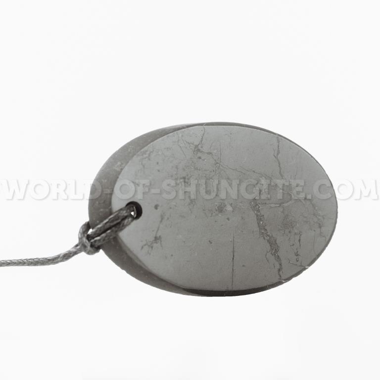 """Shungite pendant """"Сut"""""""