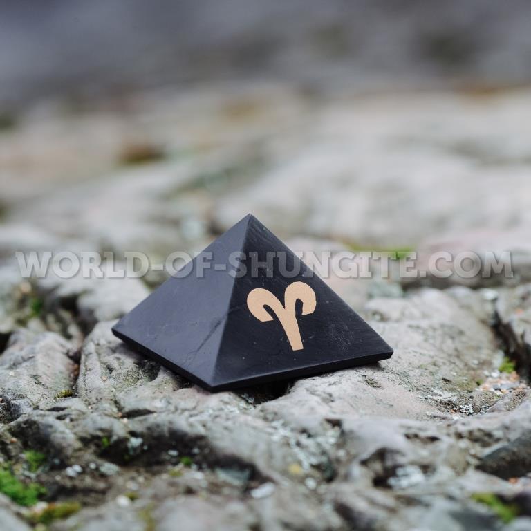 """Shungite pyramid """"Aries"""""""