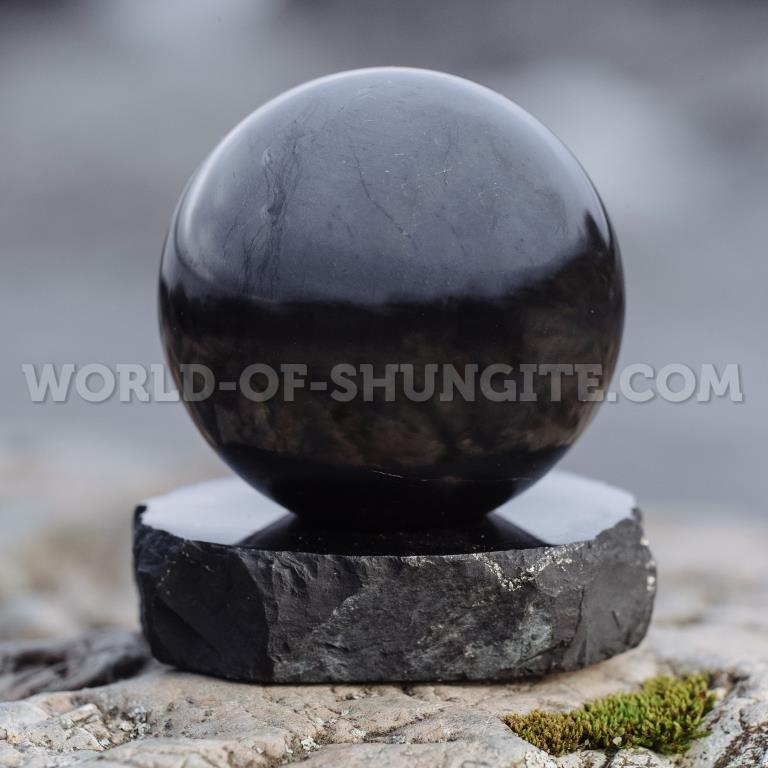 Shungite sphere 3.5cm