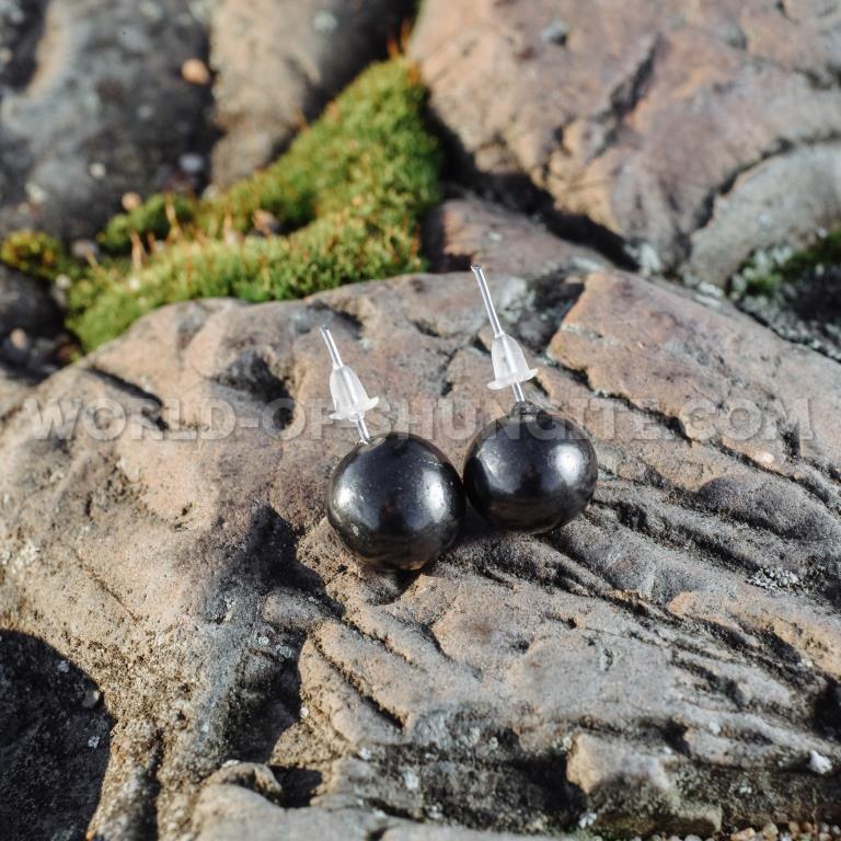 """Shungite earrings """"Anna"""""""