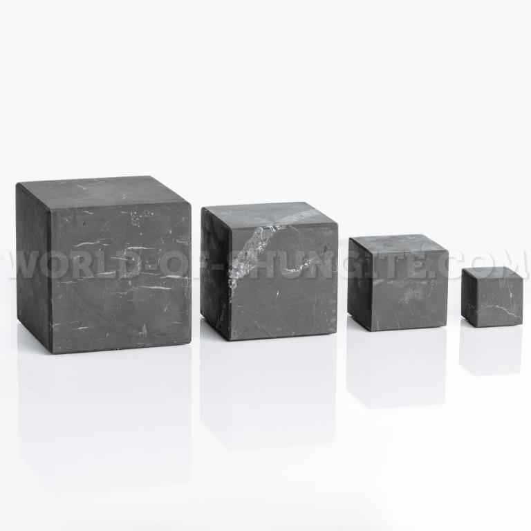 Shungite unpolished cube 15 cm