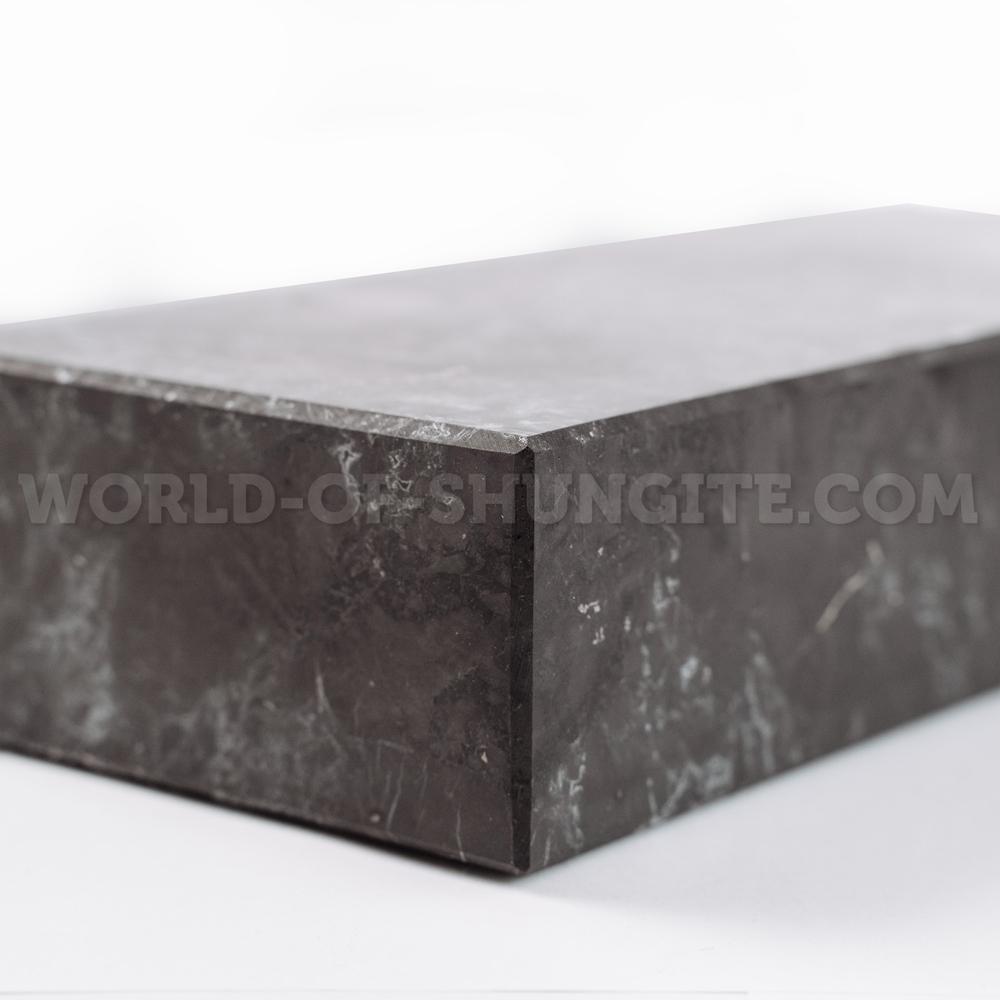 Shungite unpolished brick