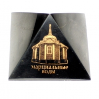 """Pyramid """"Mineral water- the church"""""""