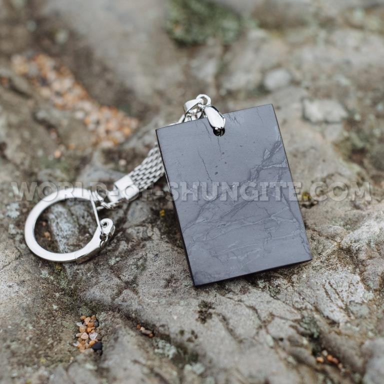 """Shungite keychain """"Rectangle"""""""