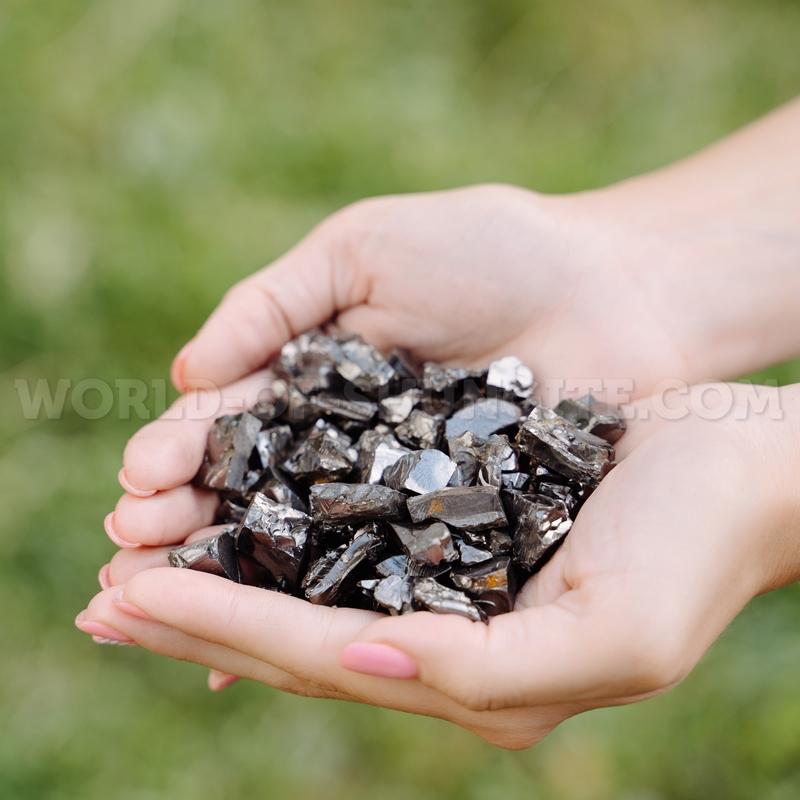 Elite shungite in granules up to 5g