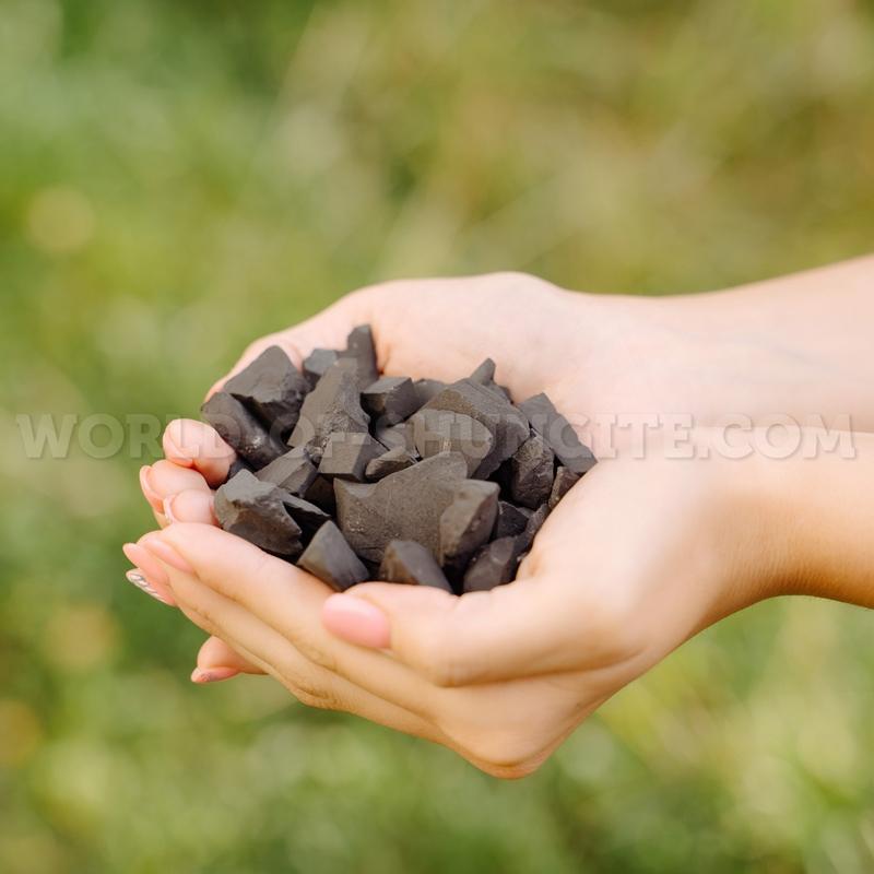 Shungite in granules (4-12mm) 350g