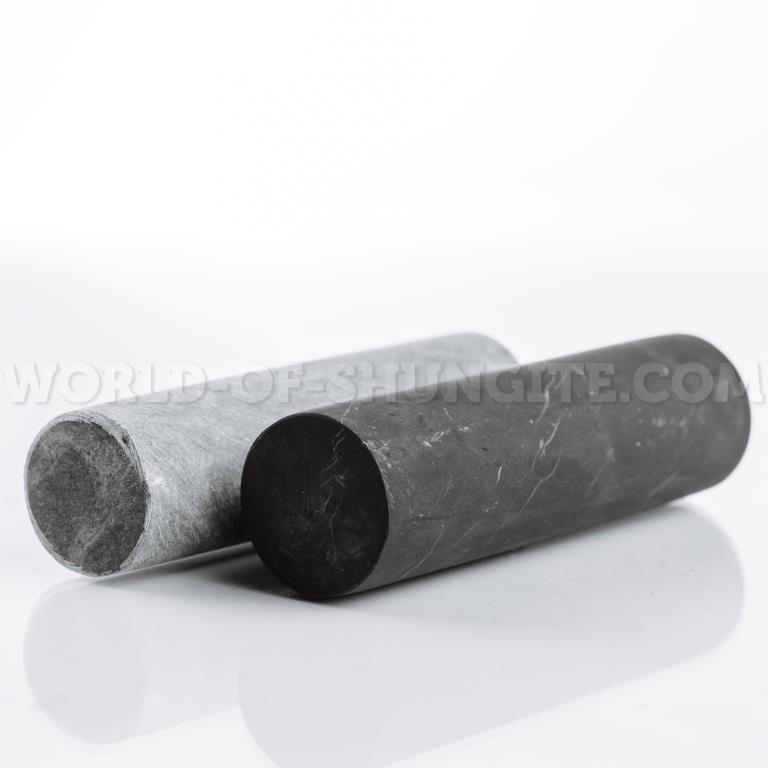 Unpolished shungite сylinder