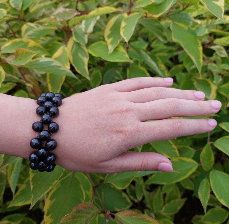 Shungite bracelet Begonia