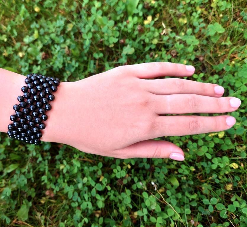 Shungite bracelet Hyacinth