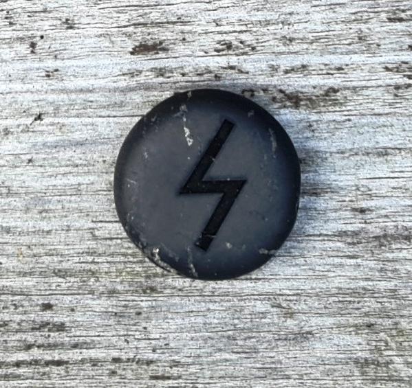 Rune on shungite