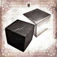 Shungite mineral cubes